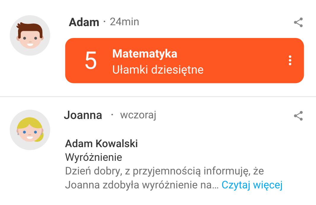Zdjęcie przedstawia wygląd widgetu